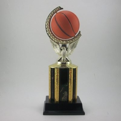 Spinning ball Basketball trophy