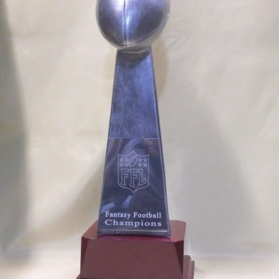 Fantasy football Lombardi trophy