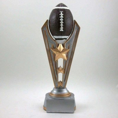 9 inch football trophy