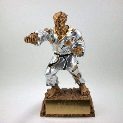 Karate or Martial arts resin award
