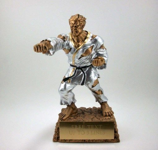 Karate or Martial arts resin award