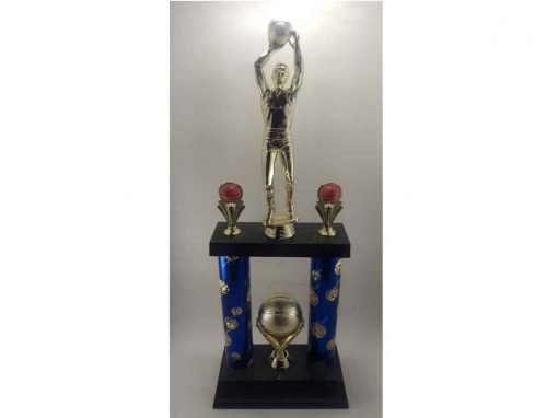 Large basketball trophy
