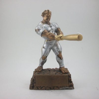 Monster fantasy baseball resin trophy