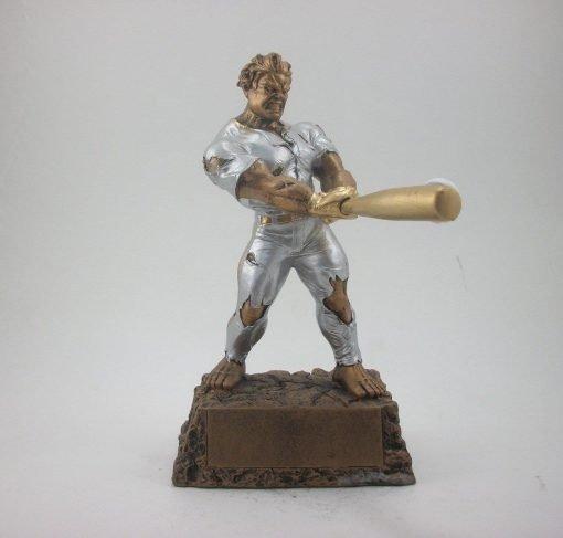 Monster fantasy baseball resin trophy