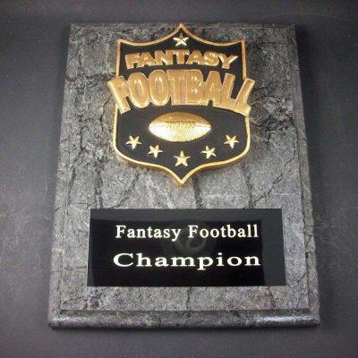 "Fantasy Football 7"" x 9"" Plaque Trophy. Free Engraving"