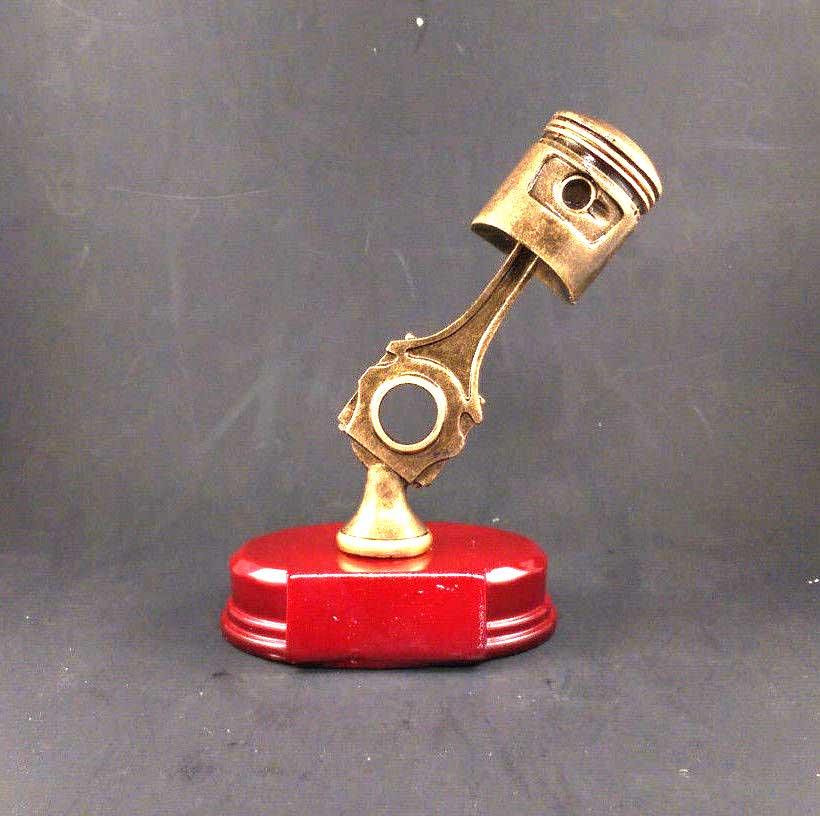 Car Piston Trophy Award For Car Shows Or Racing Awards