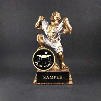 Monster Beer Pong Trophy