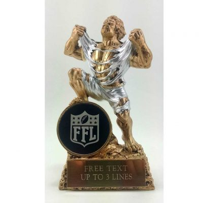 Fantasy Football Resin award