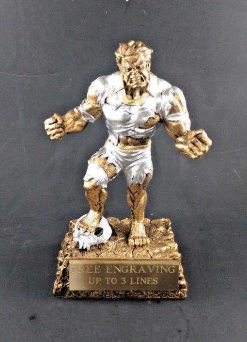 Monster Soccer Trophy Award