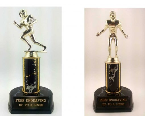 Fantasy football or youth football trophy