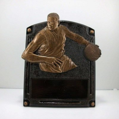 Resin Basketball Award Trophy