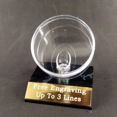 Hockey puck display holder
