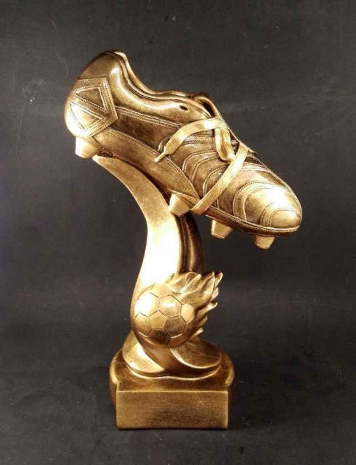 Large Soccer Boot Trophy Award