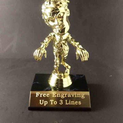 Zombie Halloween Trophy
