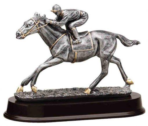 Horse racing trophy